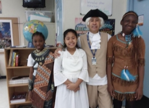Colonist and Native American